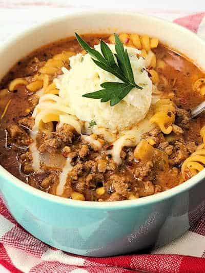 TJ's Ultimate Lasagna Soup