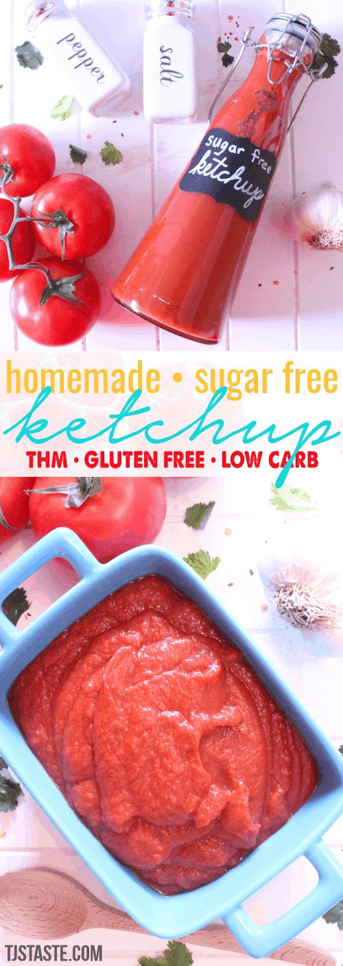 Ketchup Sugar Free Ketchup Thm Low Carb Low Fat