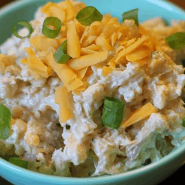 Bacon & Ranch Cauliflower Salad
