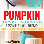 Pumpkin Pie Spice Essential Oil Blend