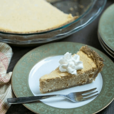 Pumpkin Cheesecake Pie from Low Carb Yum