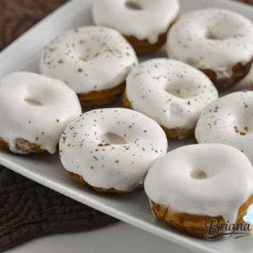 Pumpkin Donuts from Briana Thomas