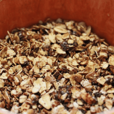 Skillet Pumpkin Spice Granola from My Fling with Food