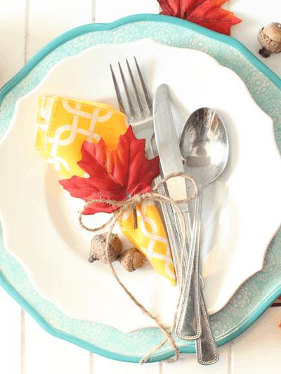 Thanksgiving Menu Plan (THM Friendly)