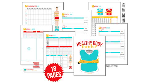 Editable Premium Healthy Body Binder