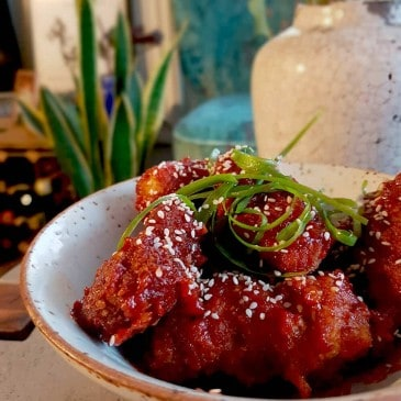 Keto Korean Fried Chicken
