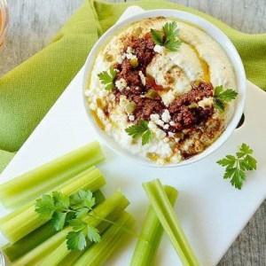 Cauliflower Jalapeno Hummus