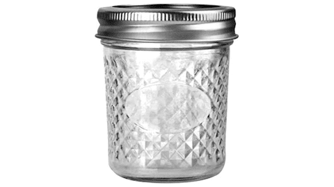 Verones 6 Ounce Mason Jars