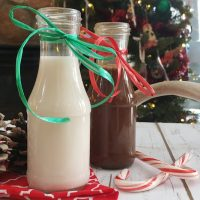 Christmas Edition Homemade Flavored Coffee Creamer